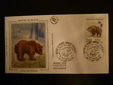 FRANCE PREMIER JOUR FDC YVERT  2721 OURS DES PYRENEES  2F ST LARY SOULAN 1991