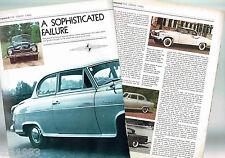 Old BORGWARD Cars Article / Photos / Pictures: HANSA, ISABELLA,