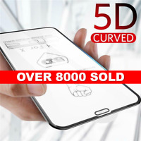 5D Full Coverage Tempered Glass Screen Guard Protector For Apple iPhone X 11 PRO