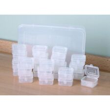 24 Box Storage System for Beads Nuts Medicine Jewelry and much more ...NEW