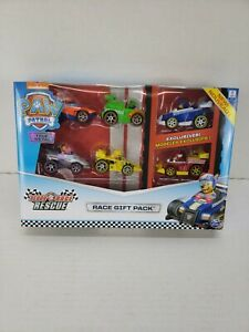 PAW PATROL True Metal *READY RACE RESCUE GIFT PACK* 6 Diecast Car Set 2019 NEW