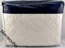 New ListingRalph Lauren Cassie Aven Full / Queen Quilted Coverlet Cream