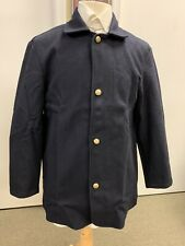 "Used Civil War Blue Union wool Sack Coat, New - Sz 44""-46"" chest, Unlined."