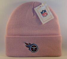 Tennessee Titans NFL Cuffed Knit Hat Pink
