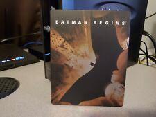 Batman Begins (Blu-ray Disc, 2012, Steelbook Best Buy Exclusive Like New