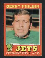 1971 Topps #98 Gerry Philbin NM/NM+ NY Jets 66178