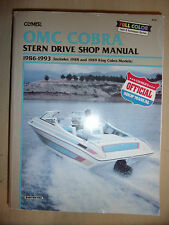 OMC COBRA STERN DRIVE SHOP MANUAL Inc' KING HO 2.3L Up To > 5.8 EFI 1986-1993