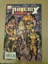 Marvel Comics X-Men Phoenix War Song #1 Signed Pak, Kirkham, Silvestri 2006