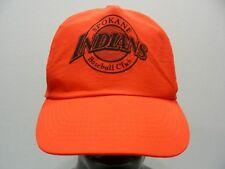 SPOKANE INDIANS - MiLB - NORTHWEST LEAGUE - NYLON SNAPBACK BALL CAP HAT!