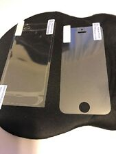 iPHONE 5 FRONT AND BACK PROTECTION SCREENS X 5