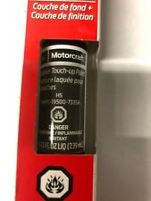 Genuine Ford Motorcraft Touch Up Paint Bottle Caribou Brown H5 7335 & Clear Coat