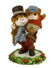 WEE FOREST FOLK A CHIRSTMAS CAROL BOB CRATCHIT & TINY TIM MOUSE CC-2