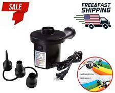 Electric Air Pump - Quick Fill Air Pump for Blow up Pool Raft Bed Boat Toy