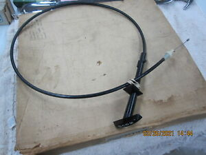 NOS 1971 1976 Chevrolet Pontiac Hood Release Cable Chevelle Cutlass GM 9851093
