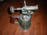Vintage Antique Brass Welding Plumbing Soldering Iron Gas Blow Torch