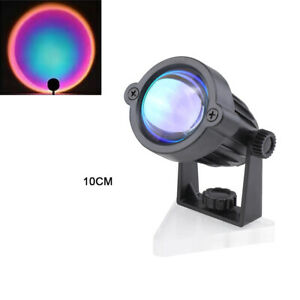Sunset Projector Projection USB Atmosphere LED Desk Night Lights Lamp Home Decor