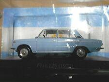 FIAT 125 Mirafiori Limousine blau blau 1971 Argentina Atlas IXO Altaya SP 1:43