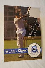 Cricket - Australia-VCA Kleenex Large Photocard - Print Signature -Dean Jones