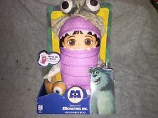 """Disney Pixar Monsters Inc Huggable Boo Talking Soft Toy 10"""" Approx Giggle"""
