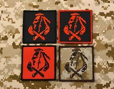 NSWDG Red Squadron Patch The Tribe DEVGRU ST6 Red Team 4-Patch Set