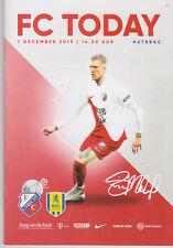 Programme / Programma FC Utrecht v RKC Waalwijk 01-12-2019
