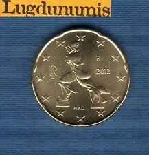 Italie 2012 - 20 centimes d'Euro - Pièce neuve de rouleau - Italia