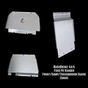 BushSkinz - Ford PX Ranger Front Sump & Transmission Guard / Bash Plate / Skid P