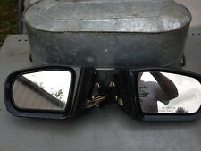Pair (right and left) 2001 Mercedes E320 outside mirrors in slate gray