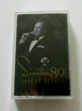 FRANK SINATRA: 80th LIVE IN CONCERT - 1995 CAPITOL CASSETTE TAPE - NEW SEALED