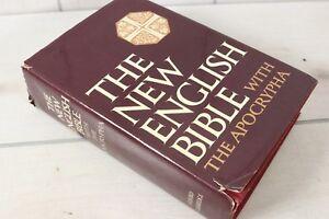 Vintage The New English Bible Apocrypha Oxford University Hardcover Standard Ed