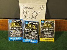 anchor lead system pva bags job lot used carp fishing tackle gear 7