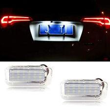 White LED License Plate Light For Ford Fiesta Fusion Explorer Escape Lincoln MKC