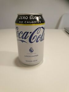 1 PCS. LEEDS UNITED Coca Cola SEASON 20/21 can of cola PREMIER LEAGUE
