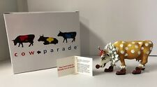 Cow Parade #9128 You Can't Have a Parade W/o A Clown Figurine 2000 Retired NEW