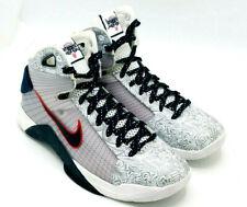 official photos 9e1ab 6ddd2 Nike Hyperdunk OG United We Rise USA White Obsidian Red 863301-146 Size 11.5