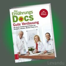 DIE ERNÄHRUNGS-DOCS - GUTE VERDAUUNG   Buch zur TV-Sendung mit über 70 Rezepten