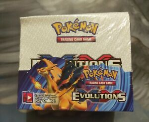 Display XY Evolutions 36 Booster English Sealed & New English Proxy / Replica