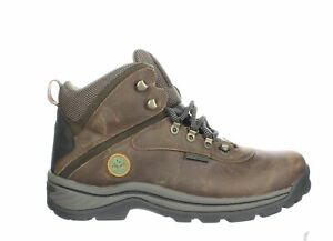 Timberland Mens White Ledge Dark Brown Hiking Boots Size 10.5 (Wide) (1349827)