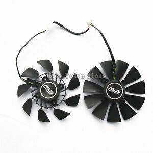 Graphics Card fan for ASUS GTX780 GTX780TI R9 280/290X Dual Fan T129215SU 95mm