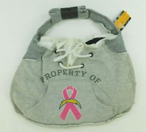 Pro FAN Ity NFL Womens Grey Hoodie Sling Purse San Diego Chargers
