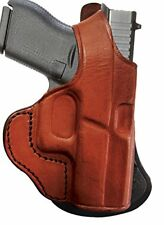 Tagua PD1-1152 Paddle Holster Thumb Break, Kahr P40, Brown, Right Hand