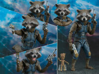 Marvel Legends Rocket Raccoon & Groot Guardians of the Galaxy Vol.2 Figurine