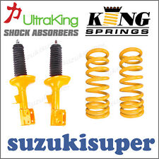 Holden Commodore VT VX VY Sedan V8 FRONT RAISED Height King Springs & Shocks