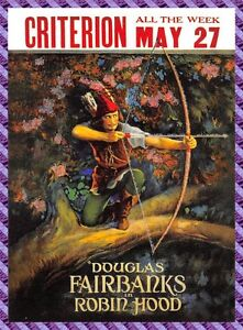 Carte collection Affiche de Film ROBIN HOOD - N°3