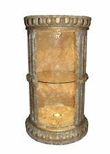 Vitrine Bar Amphore Vase mit Licht Säule Möbel Deko Wohnen Regal  1857 F124