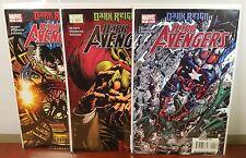 MARVEL Comics DARK AVENGER Dark Reign - RUN No. 4,5,6 **8.5-9.0** VF/NM