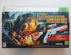 Cabela's Dangerous Hunts 2011 for Xbox 360 with Top Shot Elite Gun Controller.