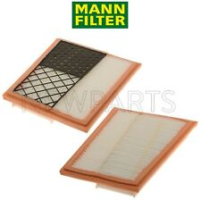 NEW Pair Set of 2 Air Filter Set Mann OEM for MB W164 W166 W211 W212 W221 W251