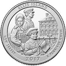 2017  ELLIS ISLAND STATUE OF LIBERTY  (NEW JERSEY) P&D SET ****PRE-SALE****