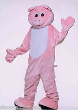 DELUXE PLUSH PIG MASCOT ADULT HALLOWEEN COSTUME